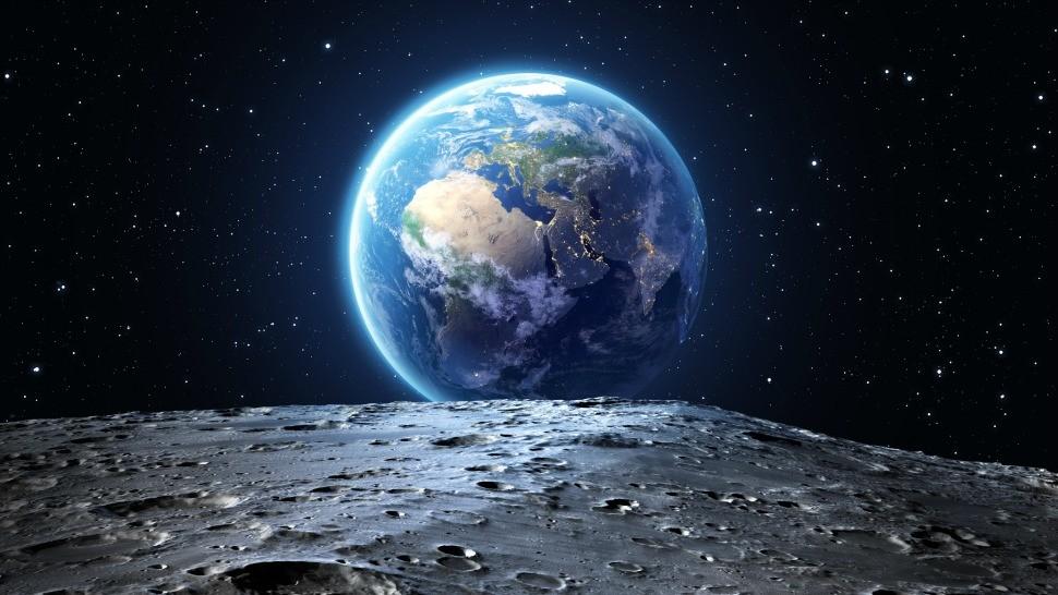 تصویر زمین از آسمان